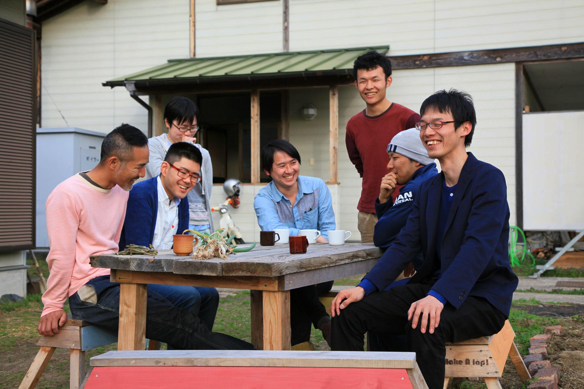 若者支援シェアハウス「人おこし」|仲間たち
