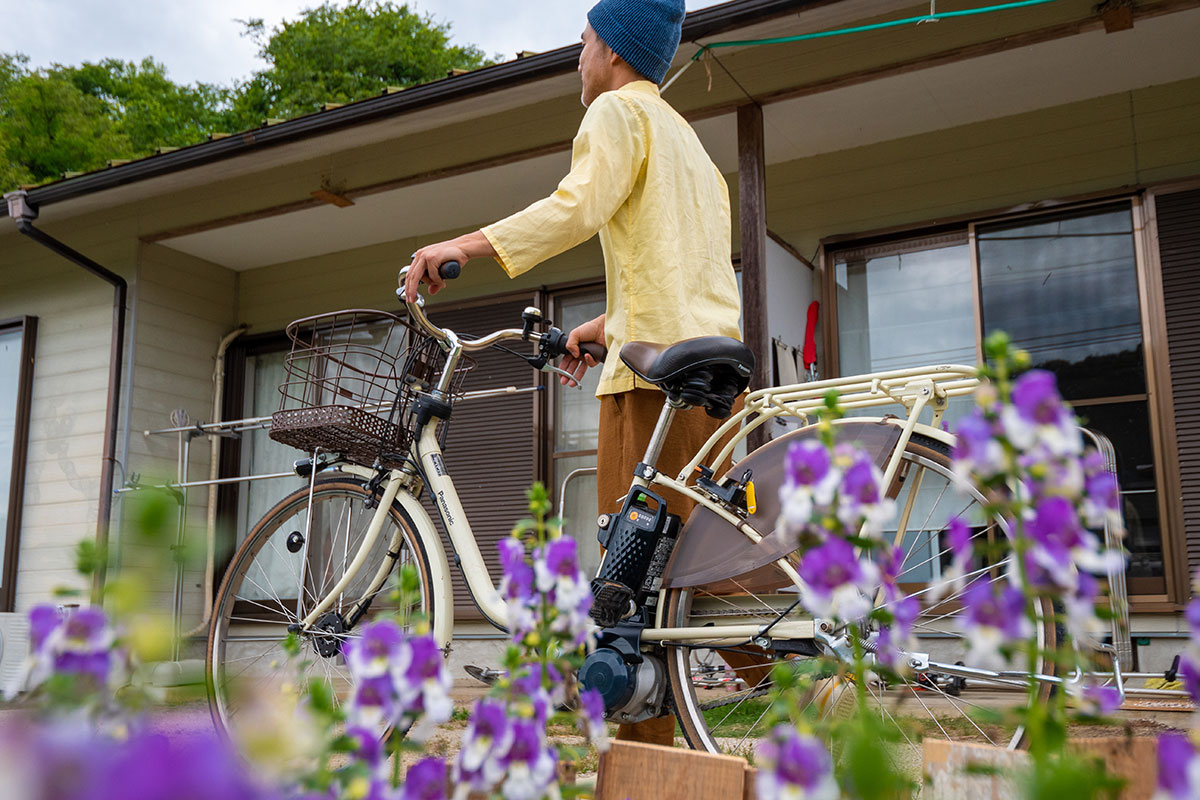 若者支援シェアハウス「人おこし」|電動アシスト自転車