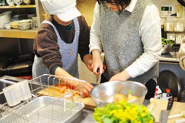 ひきこもり支援|人おこし|体験|料理教室