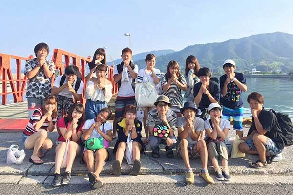 若者支援シェアハウス「人おこし」 島合宿